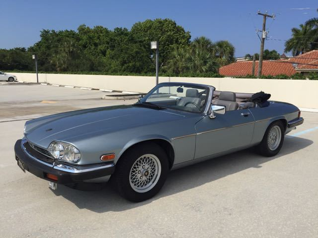 Clic 1990 Jaguar Xjs V12 Convertible Low Miles Garage Kept Collector S Item