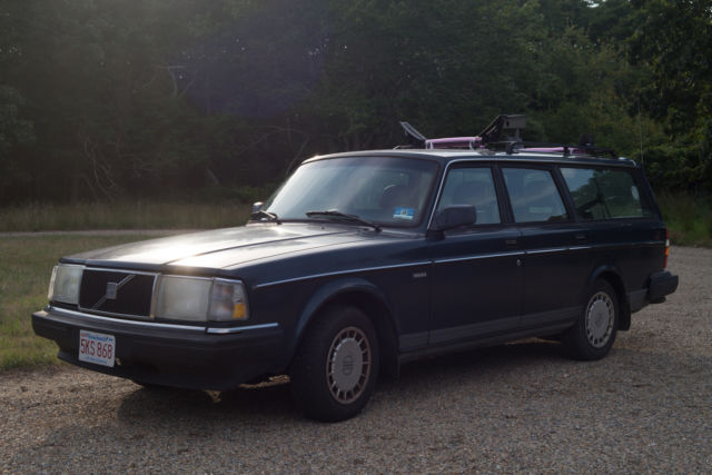 1991 Volvo 240 Base Wagon 4-Door