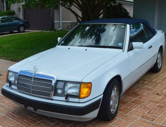 Classic 1993 mercedes benz 300ce convertible 2 door low for 1993 mercedes benz for sale