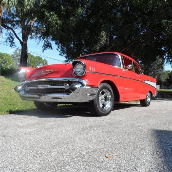 classic 57 chevy belair 2dr hardtop 4 speed 327ci v8 hurst shifter dual exhaust for sale photos. Black Bedroom Furniture Sets. Home Design Ideas