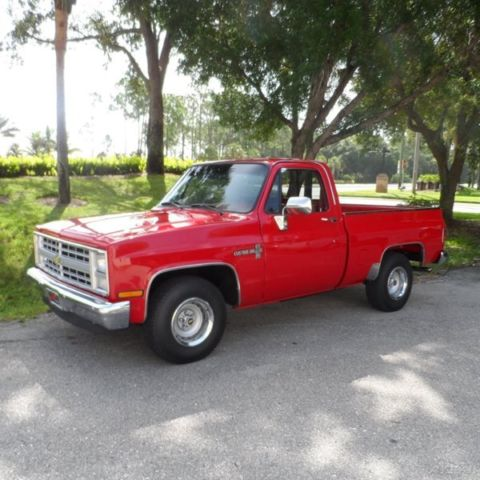 classic 86 chevy c10 used 350 v8 shortbed pickup truck restored air condition for sale photos. Black Bedroom Furniture Sets. Home Design Ideas