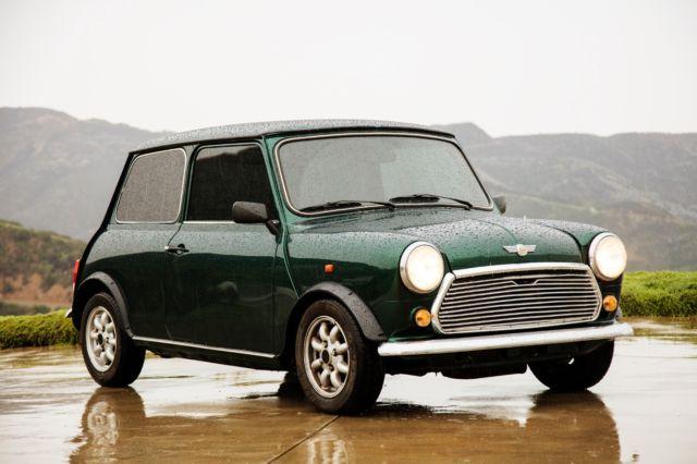 Classic Austin Mini Cooper 1990 British Racing Green For Sale