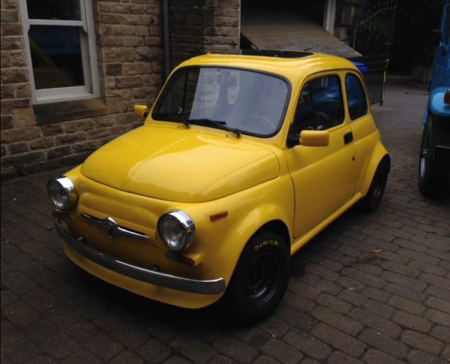 classic fiat 500 1969 abarth replica for sale photos. Black Bedroom Furniture Sets. Home Design Ideas
