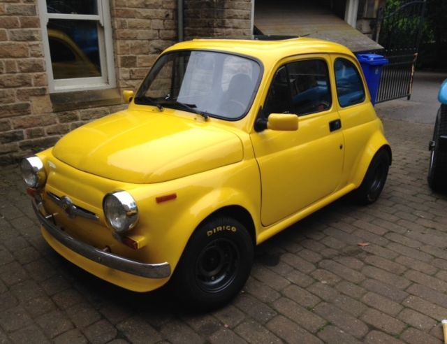 classic fiat 500 1969 abarth replica for sale photos technical specifications description. Black Bedroom Furniture Sets. Home Design Ideas