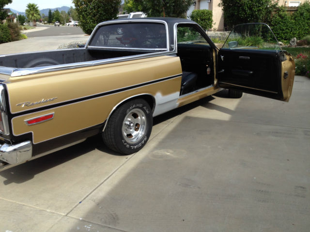 classic ford ranchero gt 390 air car tons of new parts must see