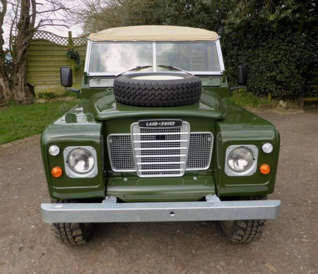 "Classic Land Rover Military Series 3 Soft Top 88"" 4x4 For"
