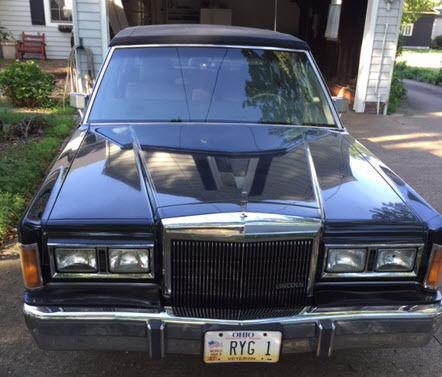 Classic Luxury Car Black Town Car For Sale Photos Technical