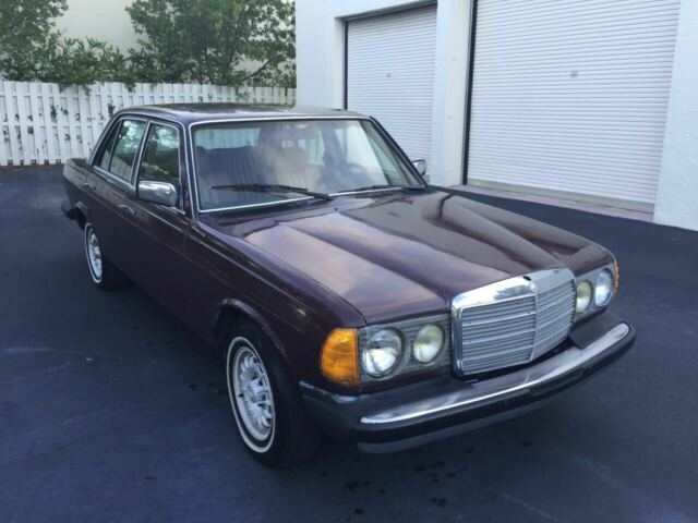 1985 Mercedes-Benz 300-Series 300D Turbo Diesel