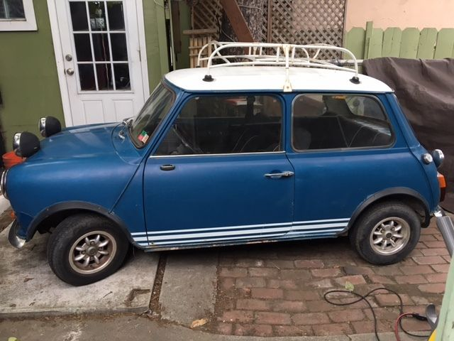 1972 Mini Classic Mini 1275 Authi (Mini manufactured in Spain)