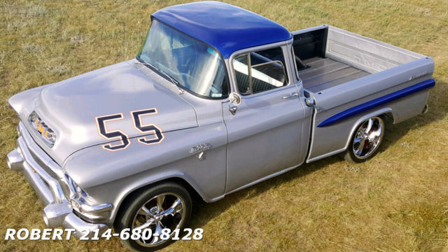 1955 GMC Other CUSTOM 1500 SERIES FLEETSIDE BIG WINDOW SHORT BED