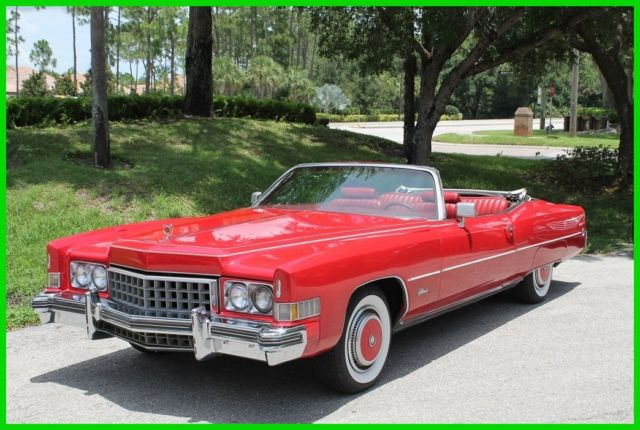 1973 Cadillac Eldorado Caddy Convertible