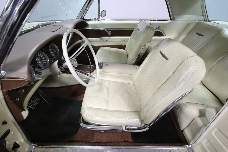 1963 White Ford Thunderbird Special Edition Principality of Monaco Hardtop with White interior