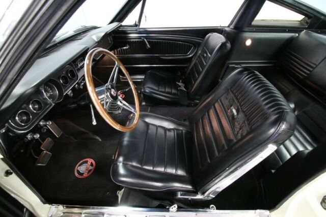 1965 White Ford Mustang Fastback GT350 Tribute Coupe with Black interior