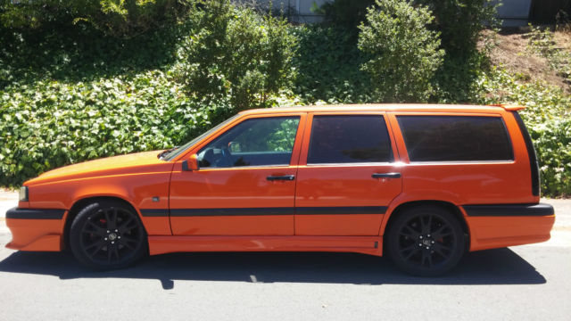 Clean Cal Rust Free1994 Volvo 850 Turbo Estate Wagon Hp Upgrades 855 Runs Great