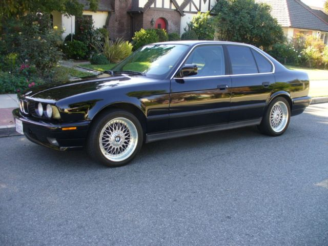 1991 BMW 5-Series BLACK