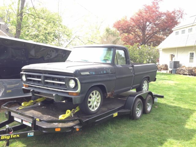 1971 Ford F-100 Lincoln Town Car