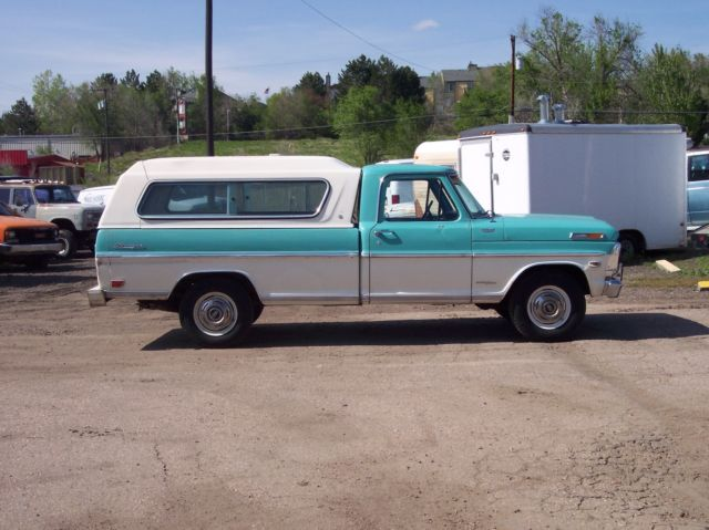1969 Ford F-100 Ford Truck