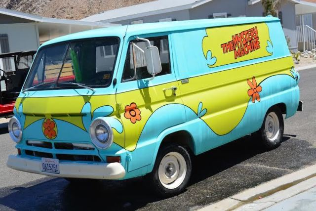 1967 Dodge SCOOBY DOO MYSTERY VAN -CUSTOM PAINTED-START OWN BUSINESS! NO RESERVE!