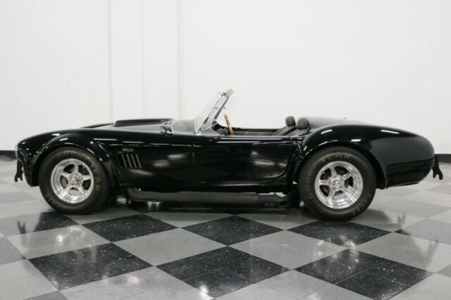 1965 Black Shelby Cobra Classic Roadster LTD. Convertible with Black interior