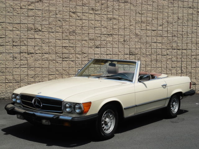 1985 Mercedes-Benz SL-Class 380-SL 2DR CONVERTIBLE COUPE! 77K MILES! SUPER RARE!
