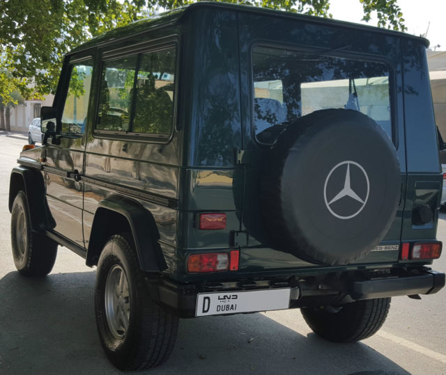 Collectible Classic Mercedes G Class W460 280ge 1987 For