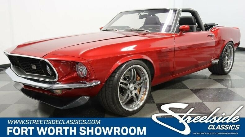 1969 Ford Mustang Pro Touring Convertible