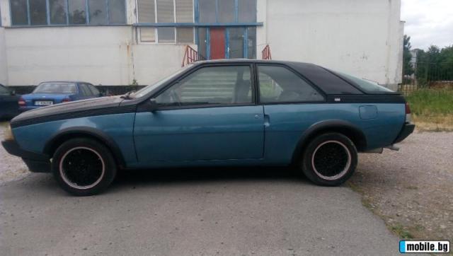 RENAULT FUEGO GTX 2 LITRES 1982 BLUE AUTOPLUS IXO 1/43 ... |Blue Renault Fuego