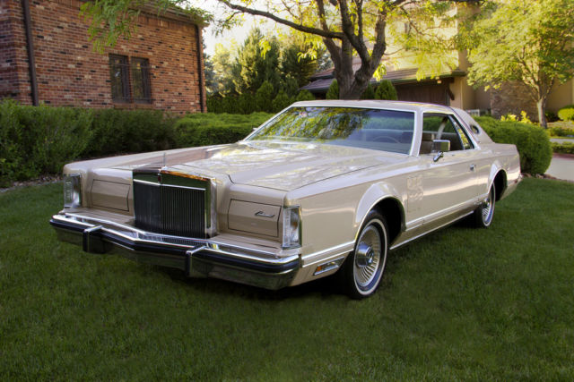 1979 Lincoln Continental Cartier Designer's Addition