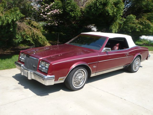 1983 Lincoln Town Car CONVERTIBLE