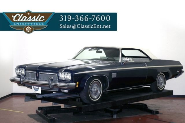 1973 Oldsmobile Delta 88 3 owner air conditioning low miles solid and fun