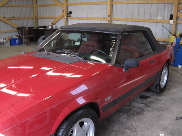 1989 Ford Mustang 2dr Converti