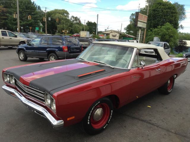 1969 Plymouth Road Runner CONVERTIBLE 383 Magnum