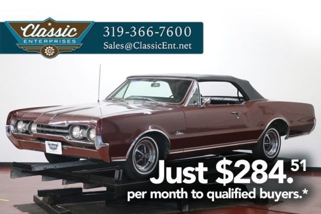 1967 Oldsmobile Cutlass Basically original car with air conditioning clean