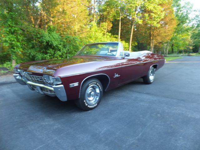 Convertible Ss Super Sport 1968 1969 1967 1971 Chevy Conv