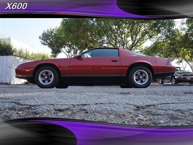 1986 Chevrolet Camaro RS 1 Owner 84k Miles 1 out of 2