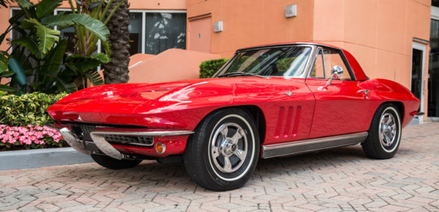 1966 Chevrolet Corvette 1 Owner 1966 A/C # Matching 4 Speed MINT 130 Pic's