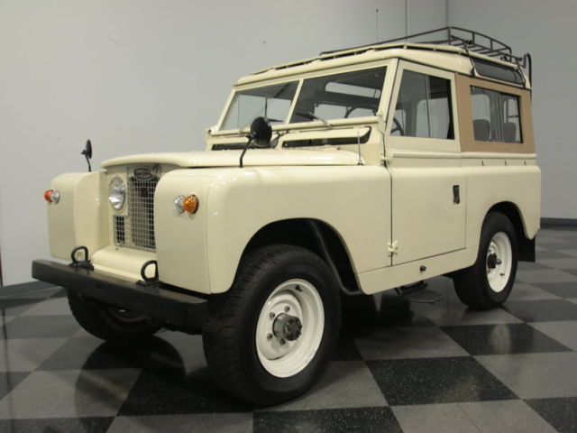 1968 Land Rover Defender