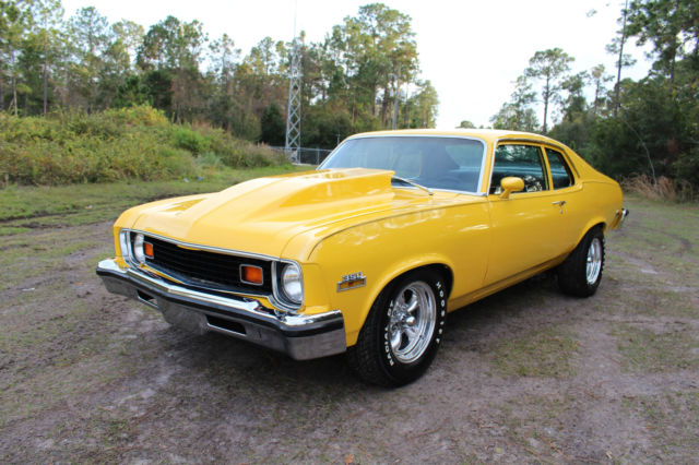 1973 Chevrolet Nova Coupe 406 Resto Mod Must See Call Now