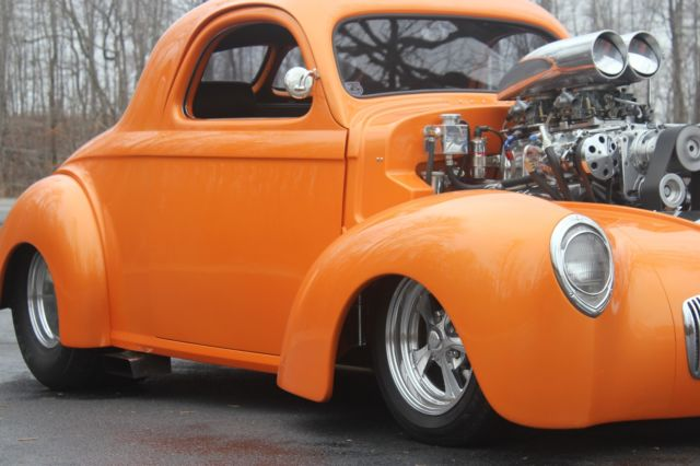 1941 Willys Outlaw Chassis Coupe