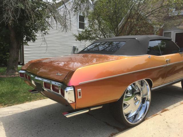 Custom 1969 Impala On 32 Inch Rims For Sale Photos