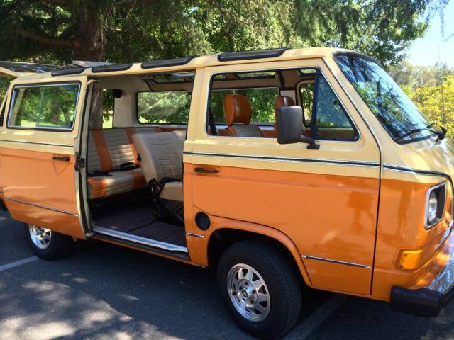 Custom 1982 volkswagen deluxe vanagon 18 window for sale for 18 window vw bus