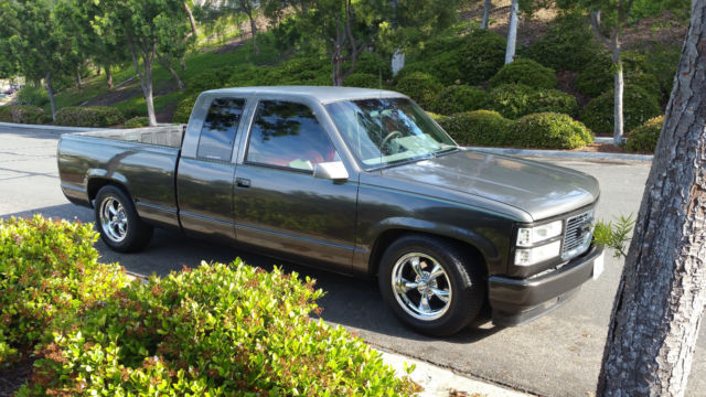 custom 1993 chevy silverado 1500 extra cab for sale photos technical specifications description. Black Bedroom Furniture Sets. Home Design Ideas