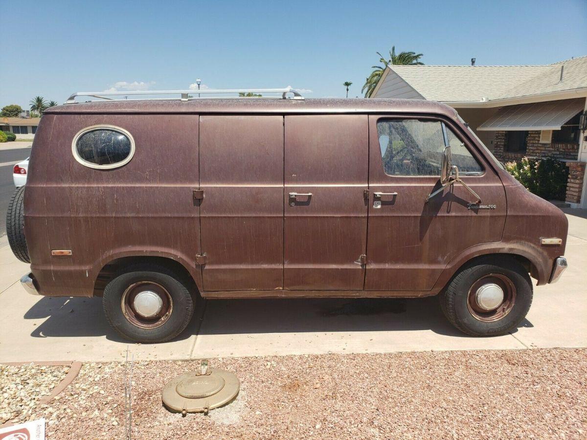 Custom 77 Dodge Van W Ac Efi For Sale Photos Technical Specifications Description