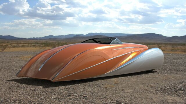 custom bodied streamliner