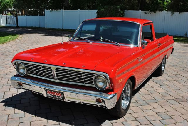1965 Ford Ranchero Absolutely Gorgeous Restomod 5.0 HO 5-Speed