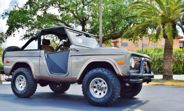 1972 Ford Bronco Pickup Truck