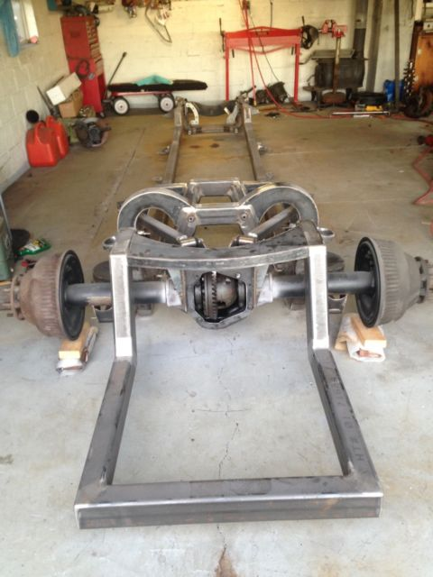 Custom Built Chevy C30 Frame Project Truck Bagged Bodied