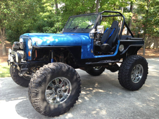 Custom Built Jeep Cj7 Rock Crawler With Many Options For Sale