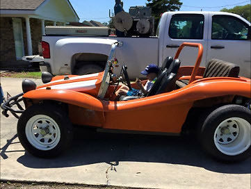 Custom Built Street Legal Dune Buggy