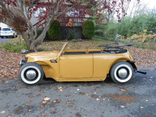 Custom Built Volksrod Vert Chopped Top Wonder Bug